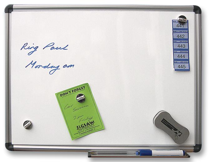 Cathedral Products Magnetic Drywipe Board 600x900mm