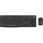 Logitech MK295 Silent Wireless Combo keyboard RF Wireless QWERTY Italian Black