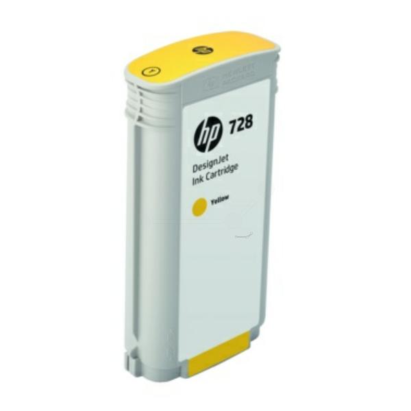 HP F9J65A (728) Ink cartridge yellow, 130ml