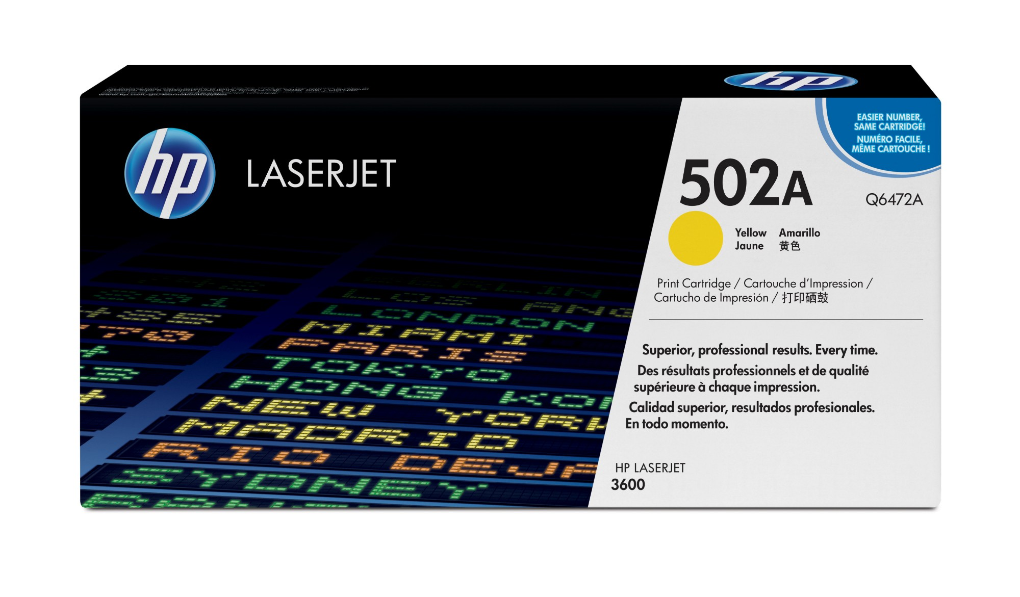 HP 502A Origineel Geel 1 stuk(s)
