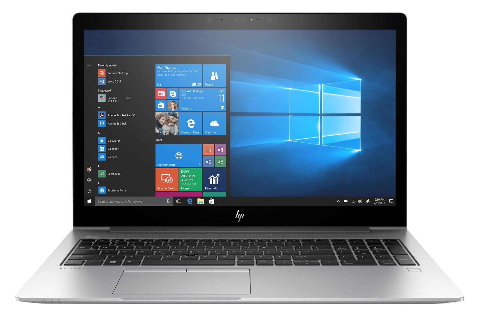 "HP EliteBook 755 G5 Silver Notebook 39.6 cm (15.6"") 1920 x 1080 pixels AMD Ryzen 7 8 GB DDR4-SDRAM 256 GB SSD Windows 10 Pro"