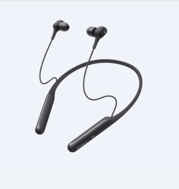 Sony WIC600NB headphone Intraaural In-ear,Neck-band Black
