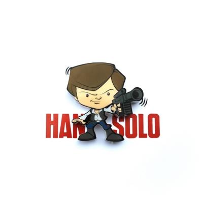 TARGET Hans Solo 3D Mini Wall Light