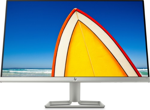 "HP 24f LED display 60.5 cm (23.8"") Full HD Silver"