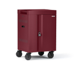 Bretford CUBE Mini Portable device management cart Maroon