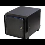TGC NAS Case, 4x Hotswap 3.5' Bays, 1x Full Height PCIE Slot, MINI ITX MB, 1U Flex PSU