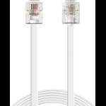 Sandberg Telephone RJ11-RJ11 1.8 m telephony cable