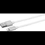 eSTUFF ES80111-SILVER lightning cable 2 m