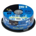 Intenso DVD+R 8.5GB 8x Double Layer 25er Cakebox 8.5GB DVD+R 25pc(s)