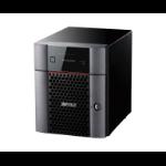 Buffalo TeraStation 3420DN Ethernet LAN Desktop Zwart NAS