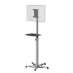 "PMV PMVTROLLEYXS flat panel floorstand 81.3 cm (32"") Portable flat panel floor stand Grey"