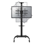 Newstar PLASMA-M1900E Flat panel Bodenhalter 177,8 cm (70 Zoll) Schwarz