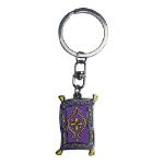 Disney Aladdin Magic Flying Carpet Keychain, Multi-colour (ABYKEY229)