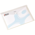 Rexel Popper Wallet A4 White (5)