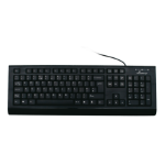MediaRange MROS101-UK keyboard USB QWERTY UK English Black