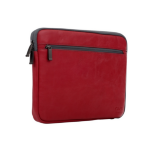"""NVS Premium Leather Sleeve for Surface Pro 6/5/4/3 / 11"""" Devices - Red"""