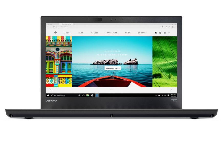 "Lenovo ThinkPad T470 2.70GHz i7-7500U 14"" 1920 x 1080pixels Black Notebook"