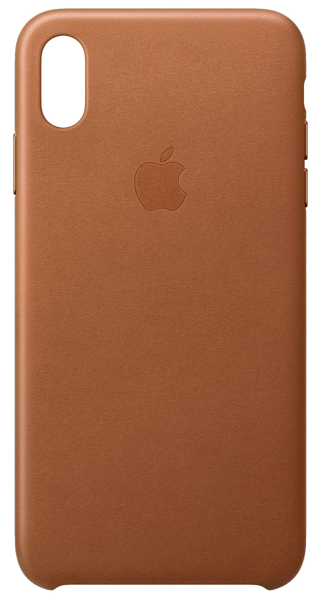 iPhone Xs Max - Leather Case - Saddle Brown