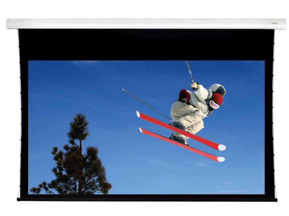 Sapphire 301cm x 169cm IR Electric Tab Tensioned Screen
