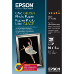 Epson Ultra Glossy Photo Paper - 10x15cm - 20 Vellen