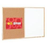 Bi-Office BI SILQUE CORK/WRT ON WIPE OFF 600X400MM