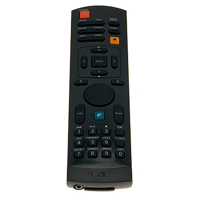 Acer VZ.K2400.001 IR Wireless Black remote control