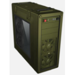 Corsair C70 Midi-Tower Green computer case