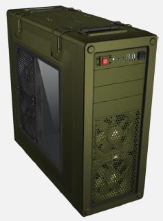 Corsair C70 Midi-Tower Green computer case