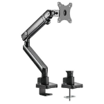 Brateck Single Monitor Aluminium Slim Mechanical Spring Monitor Arm For Most 17'-32'