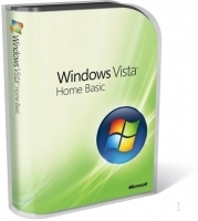 Microsoft Windows Vista Home Basic SP1, 32-bit, EN
