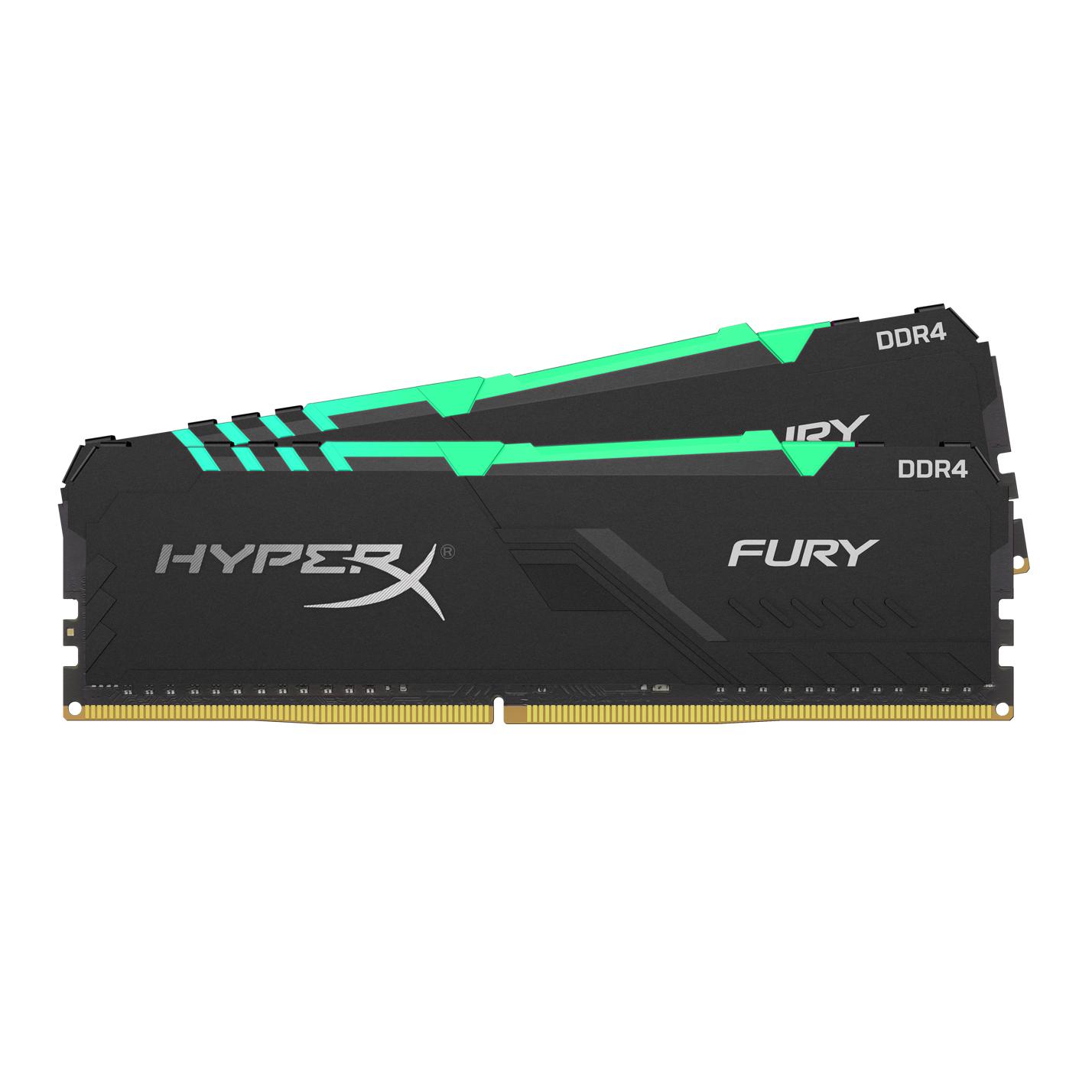 HYPERX FURY HX424C15FB3AK2/16 MEMORY MODULE 16 GB DDR4 2400 MHZ