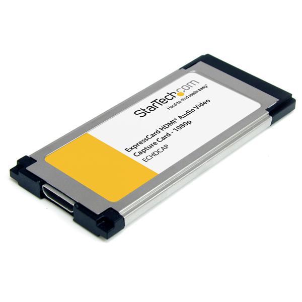 StarTech.com HDMI to ExpressCard HD Video Capture Card Adapter 1080p