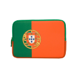 Urban Factory Neoprene Flag Laptop Sleeve for 11.6 to 12 Inch Devices, Portugal Flag (FLG08UF)