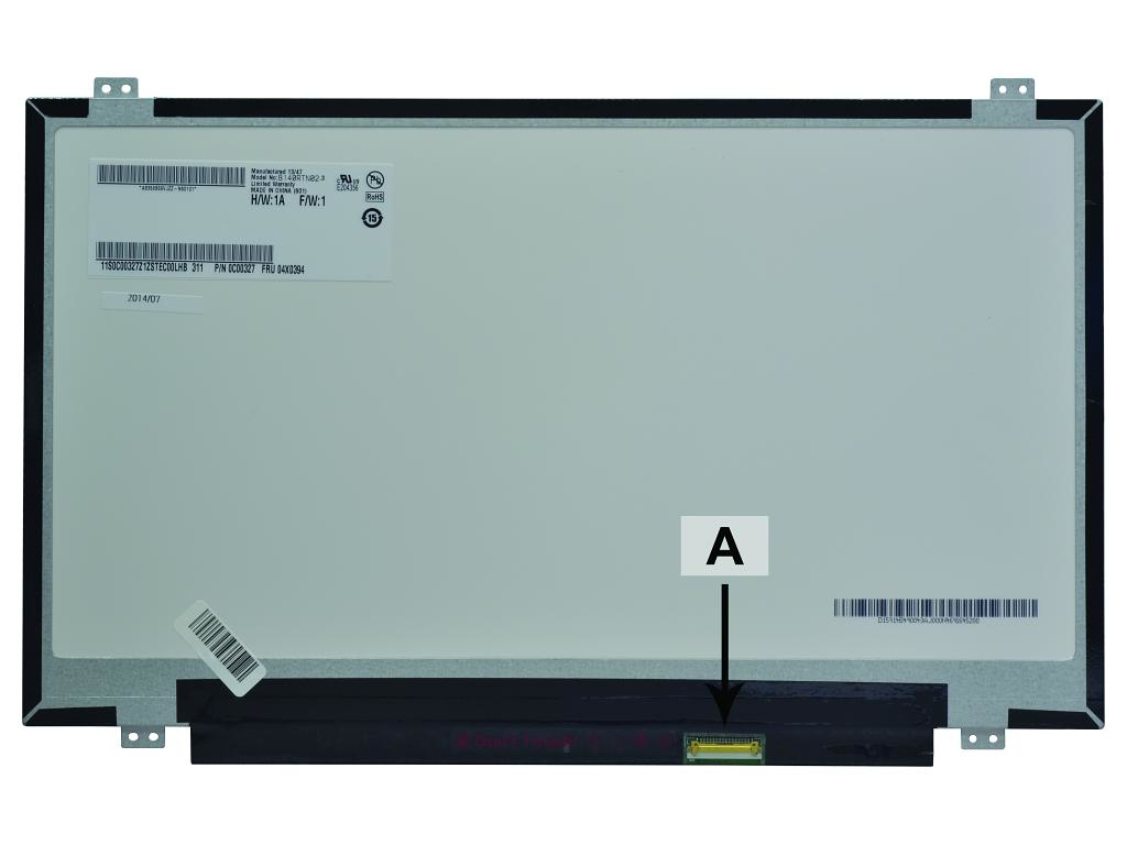 LCD Panel Replacement 14.0in Hd+ 1600x900 LED Matte (SCR0502B)