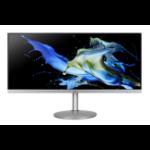 "Acer CB2 CB342CKsmiiphzx 86.4 cm (34"") 3440 x 1440 pixels 4K Ultra HD LED Black, Silver"