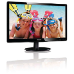 "Philips 226V4LAB 21.5"" Full HD LCD/TFT Gloss Black Flat computer monitor"