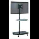 "Allcam FS940 37"" Portable flat panel floor stand Black flat panel floorstand"