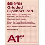Bi-Office Flipchart Pads A1 Gridded