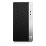 HP ProDesk 400 G5 Intel® 8ste generatie Core™ i3 i3-8100 8 GB DDR4-SDRAM 256 GB SSD Zwart, Zilver Micro Tower PC