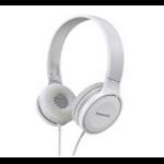 Panasonic RP-HF100E Blanco Supraaural Diadema auricular dir