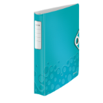 Leitz WOW ring binder A4 Blue