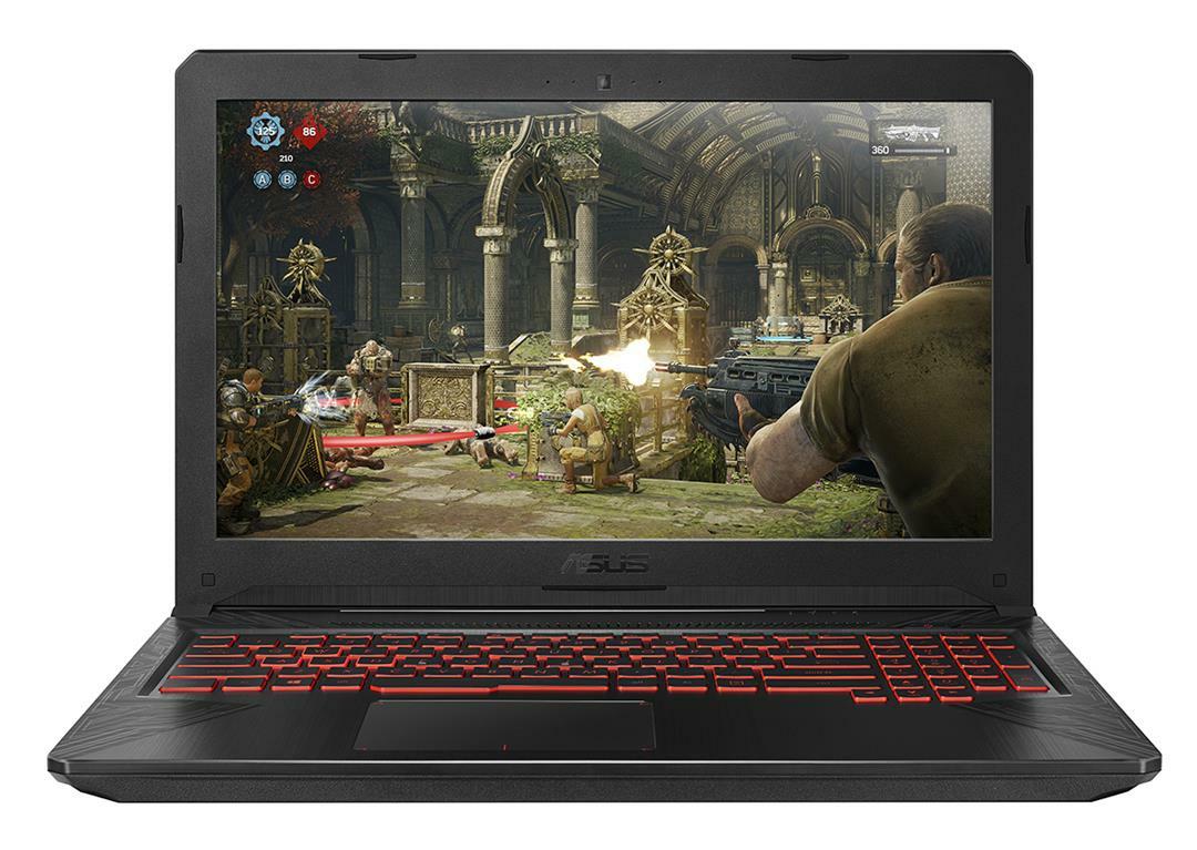 ASUS TUF Gaming FX504GE-DM176T Black Notebook 39.6 cm (15.6