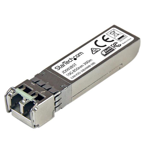 StarTech.com 10 Gigabit Fiber SFP+ Transceiver Module - HP JD092B Compatible - MM LC with DDM - 300m (984 ft)