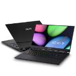 """Gigabyte AERO 17 SB-7UK1130SH Notebook Black 43.9 cm (17.3"""") 1920 x 1080 pixels 10th gen Intel® Core™ i7 16 GB DDR4-SDRAM 512 GB SSD NVIDIA® GeForce® GTX 1660 Ti Wi-Fi 6 (802.11ax) Windows 10 Home"""