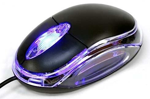 Dynamode INA-67 mice USB Optical 800 DPI Ambidextrous Black