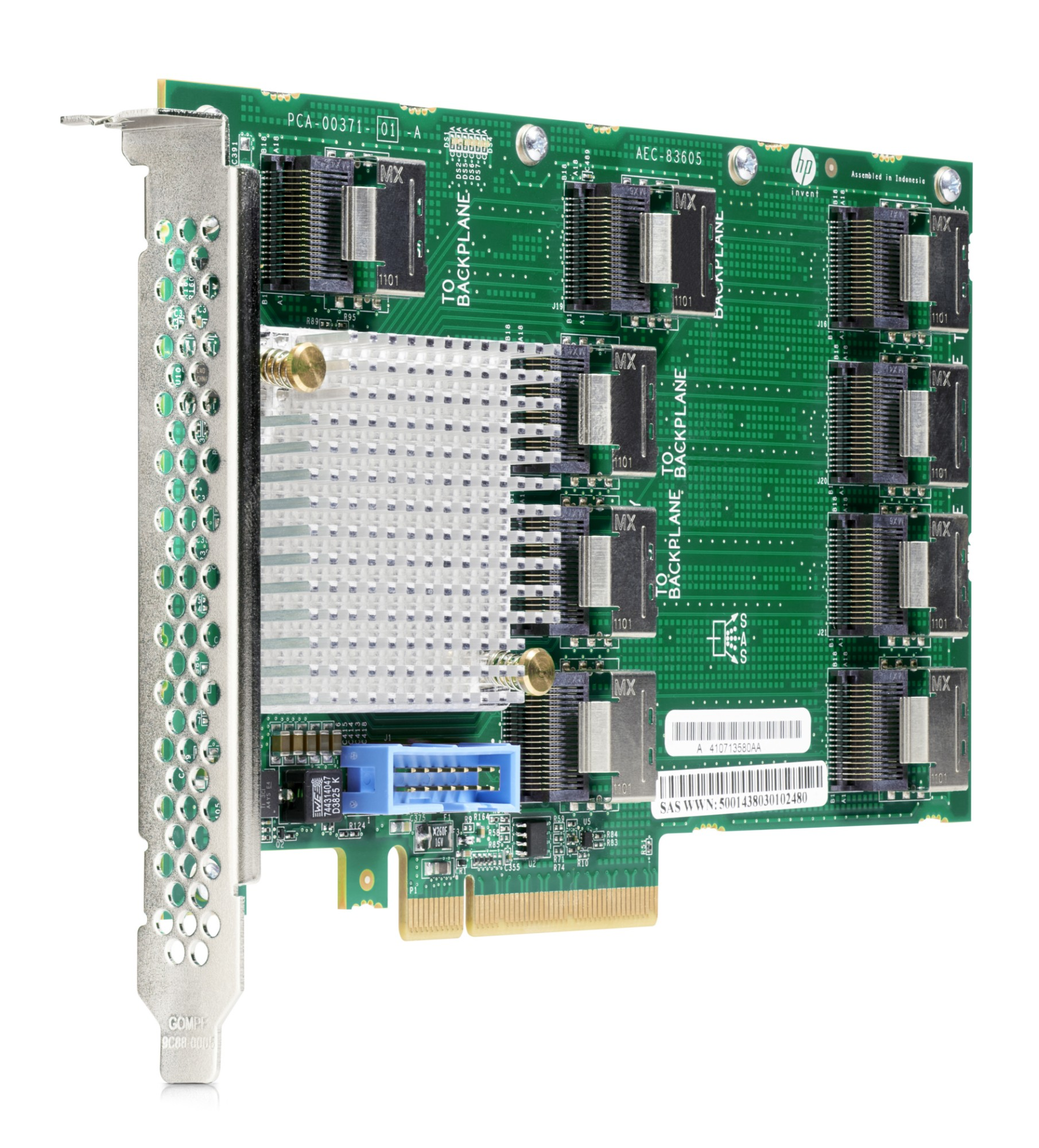Hewlett Packard Enterprise 727250-B21 interface cards/adapter SAS Internal