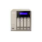 QNAP TVS-463 NAS Tower Ethernet LAN Gold