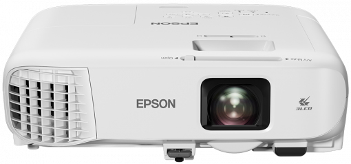 Epson EB-992F videoproyector 4000 lúmenes ANSI 3LCD 1080p (1920x1080) Proyector instalado en techo / pared Blanco