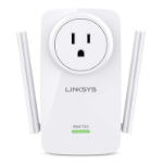 Linksys RE6700 Ethernet LAN Wi-Fi White 1pc(s) PowerLine network adapter