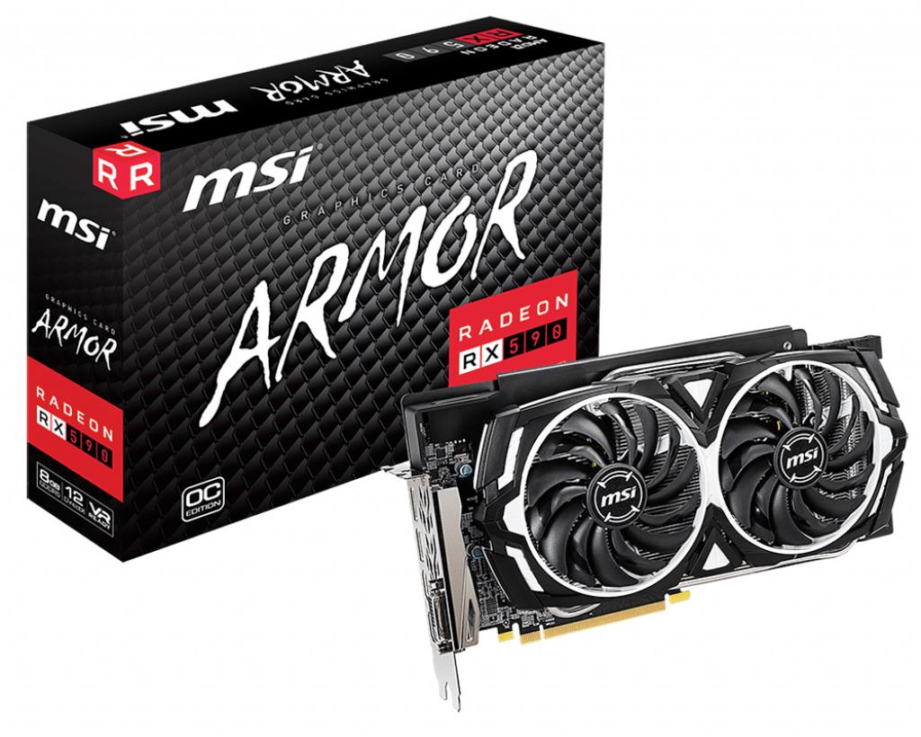 MSI V341-295R graphics card AMD Radeon RX 590 8 GB GDDR5